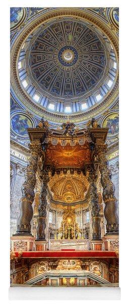St Peter's Basilica Yoga Mat