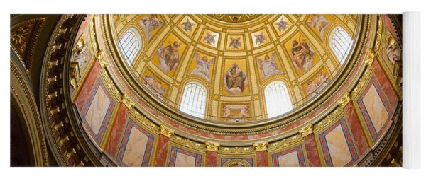 St. Stephen's Basilica Ceiling Yoga Mat