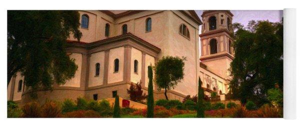 St. Thomas Aquinas Church Large Canvas Art, Canvas Print, Large Art, Large Wall Decor, Home Decor Yoga Mat