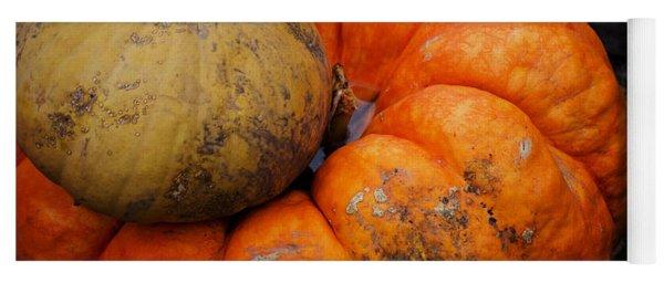 Stacked Pumpkins Yoga Mat