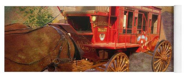 Stagecoach West Textured Yoga Mat