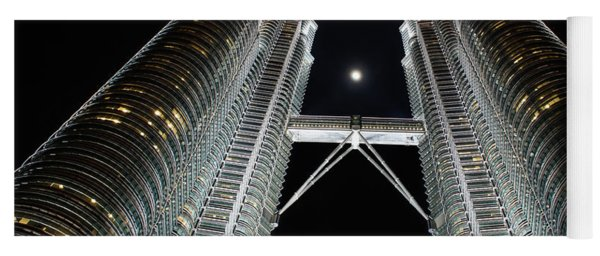 Stainless Steel Moon Yoga Mat