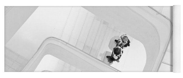 Stairs Yoga Mat