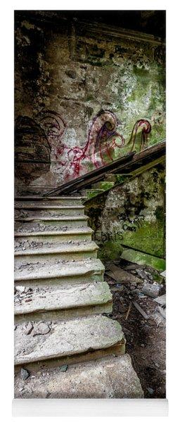 Stairway Graffiti Yoga Mat