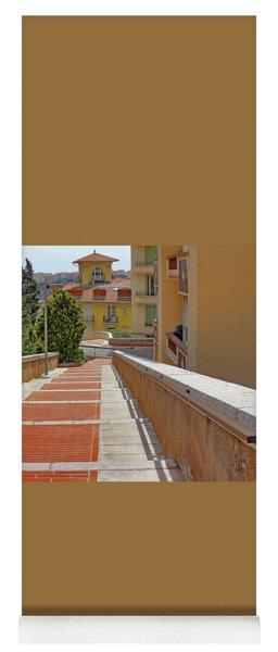 Stairway In Monaco French Riviera Yoga Mat