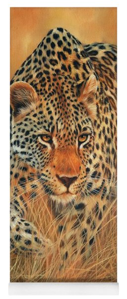 Stalking Leopard Yoga Mat