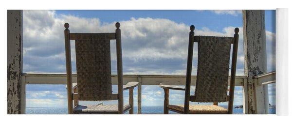 Star Island Rocking Chairs Yoga Mat