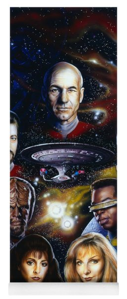 Star Trek Tng Yoga Mat