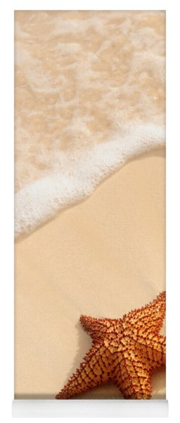 Starfish And Ocean Wave Yoga Mat