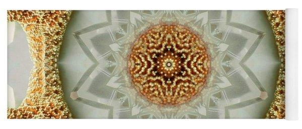 Starfish Crystal Mandala Yoga Mat