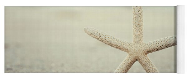 Starfish On Beach Vintage Seaside New Jersey  Yoga Mat