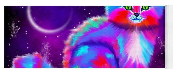 Starlight Kitten Yoga Mat