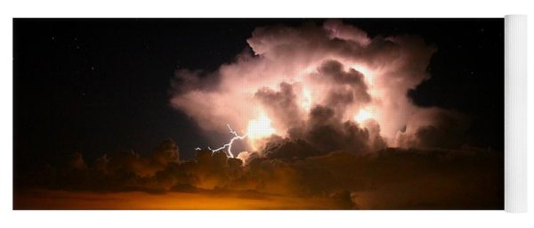 Starry Thundercloud Yoga Mat