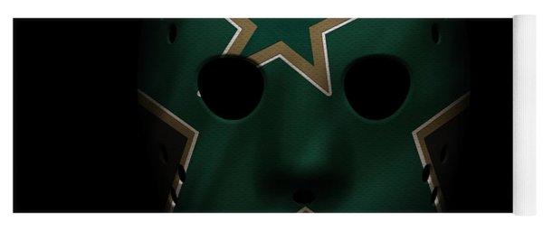 Stars Jersey Mask Yoga Mat