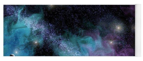 Starscape Nebula Yoga Mat