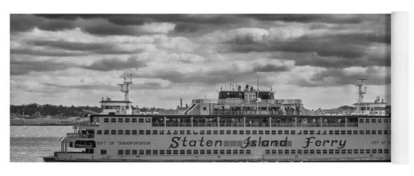 Staten Island Ferry 10484 Yoga Mat