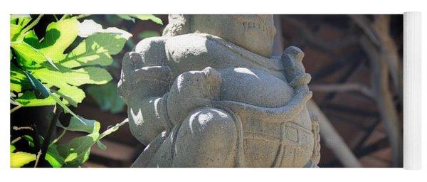 Statue In The Sun Yoga Mat