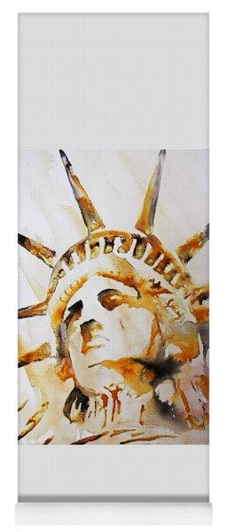 Statue Of Liberty Closeup Yoga Mat