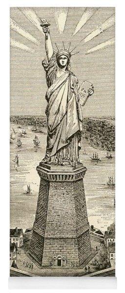 Statue Of Liberty, New York Yoga Mat