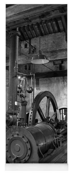 Steam Engine At Locke's Distillery Yoga Mat