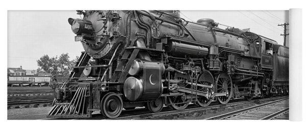 Steam Locomotive Crescent Limited C. 1927 Yoga Mat