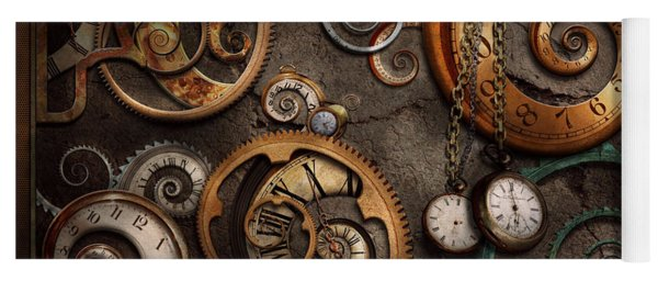Steampunk - Abstract - Time Is Complicated Yoga Mat
