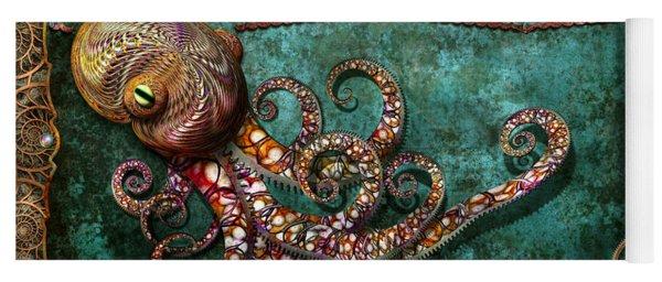 Steampunk - The Tale Of The Kraken Yoga Mat