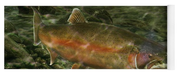 Steelhead Trout Spawning Yoga Mat