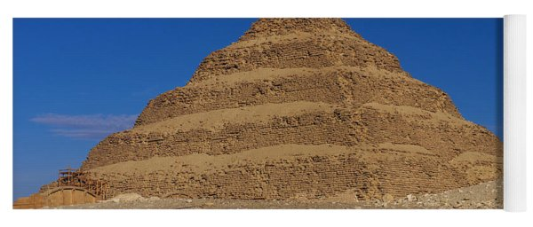 Step Pyramid Of King Djoser At Saqqara  Yoga Mat