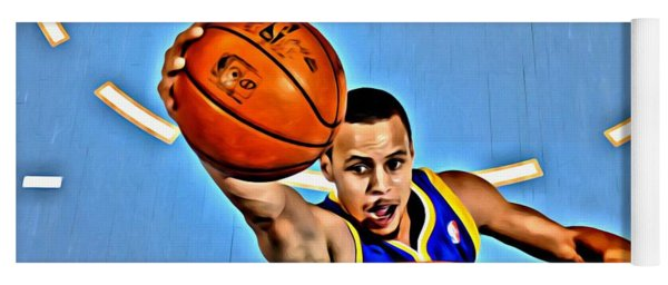 Steph Curry Yoga Mat