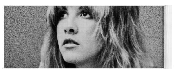 Stevie Nicks Bw Yoga Mat