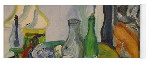 Still Life  With Lamps Yoga Mat