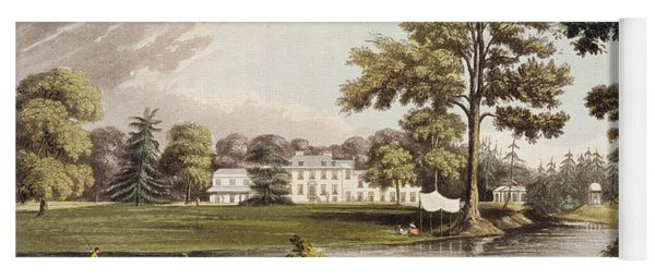 Stoke Place, From Ackermanns Repository Yoga Mat