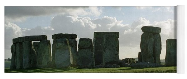 Yoga Mat featuring the photograph Stonehenge by Susie Rieple