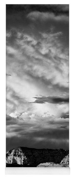 Storm Over Sedona Yoga Mat