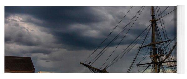 Storm Passing Salem Yoga Mat