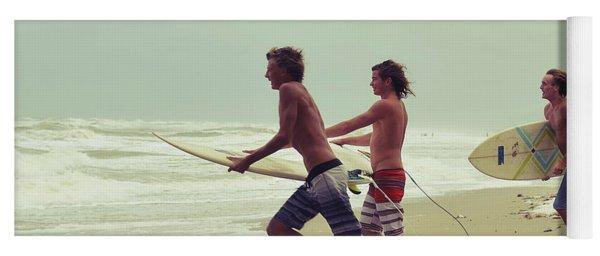 Storm Surfers Yoga Mat