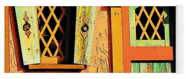Storybook Window And Door Yoga Mat