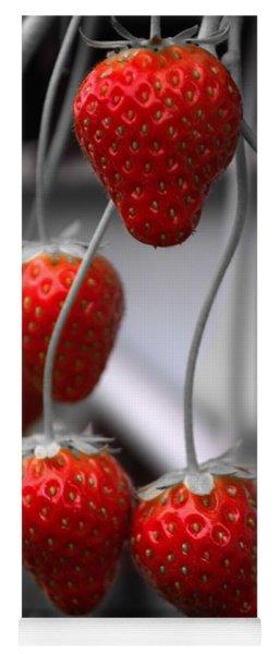 Strawberries Yoga Mat