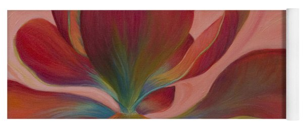 Yoga Mat featuring the painting Strawberry Flapjack by Sandi Whetzel