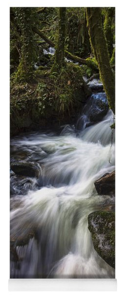 Stream On Eume River Galicia Spain Yoga Mat