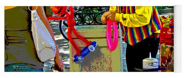 Street Balloon Art Yoga Mat