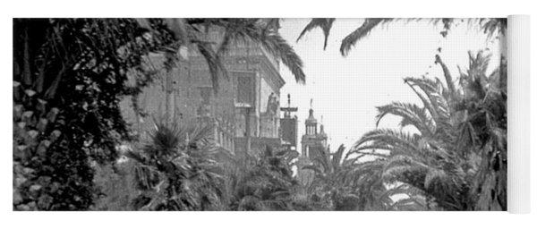 Avenue Of The Palms, San Francisco Yoga Mat