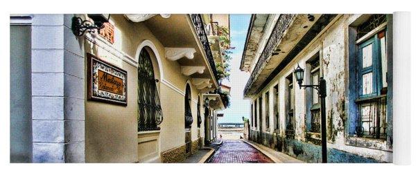 Streets Of El Casco Viejo 2  Yoga Mat
