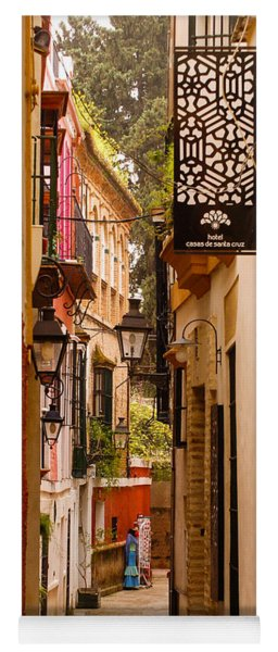 Streets Of Seville  Yoga Mat