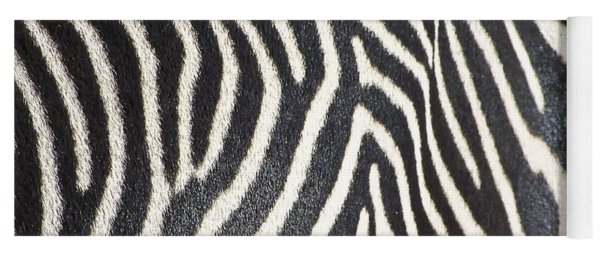Stripes And Ripples Yoga Mat