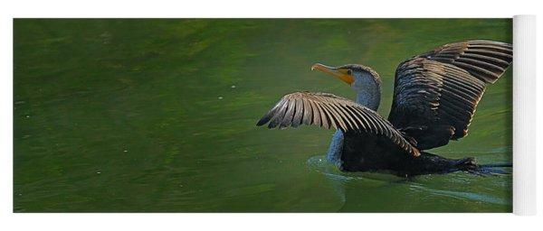 Strutting Cormorant Yoga Mat