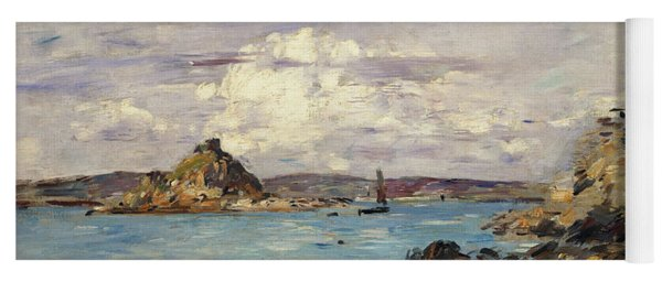 Study For The Bay Of Douarnenez Yoga Mat