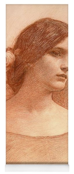 Study For The Lady Clare Yoga Mat