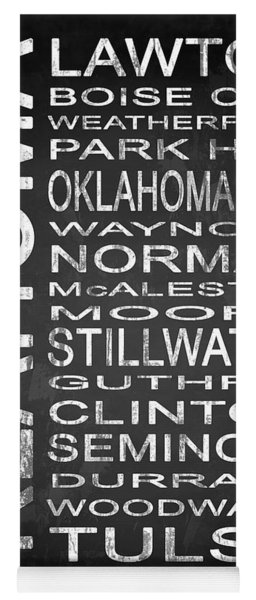 Subway Oklahoma State 1 Yoga Mat